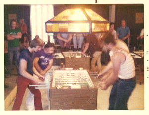 1972 foosball tournament