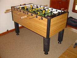 sold need to sell a foosball table - Foosball Table For Sale